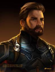 Captain America by aerlixir