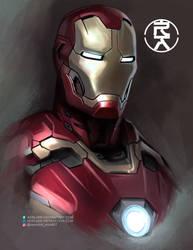 Ironman by aerlixir
