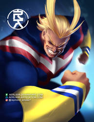 All Might by aerlixir