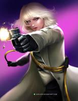 Blonde babe by aerlixir