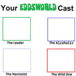 Your Own Eddsworld Cast Meme (The Main 4)