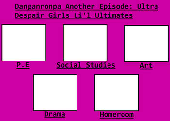 Danganronpa: Ultra Despair Girls Lil' Ultimates by Blaze-On-Fire