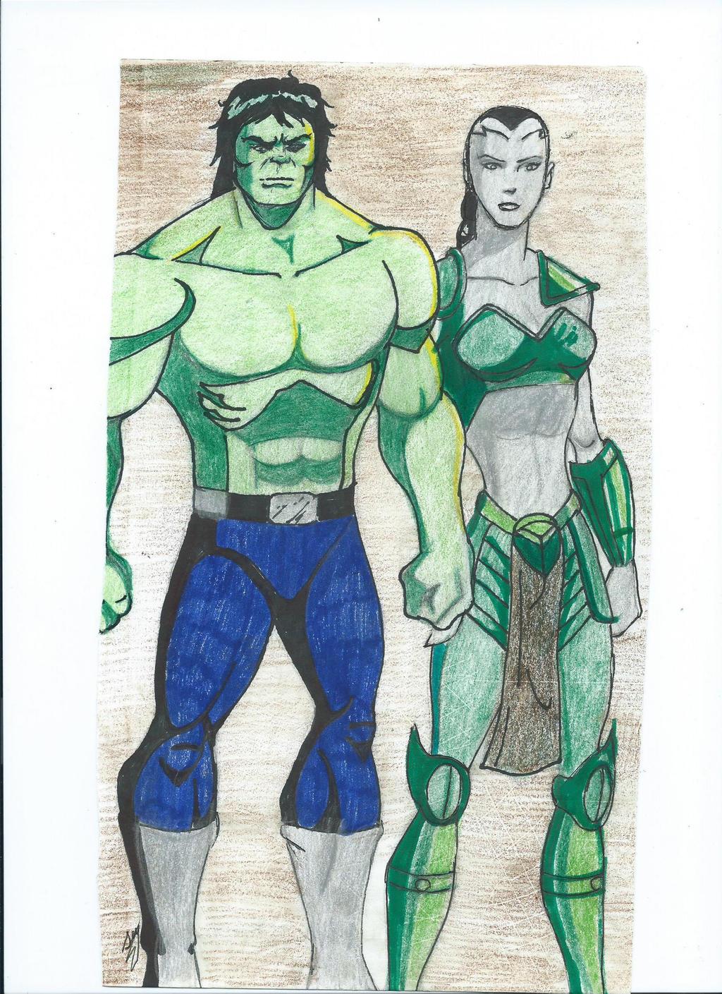 Hulk and Caiera