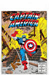 Captain America John Romita Sr PC Coloring Art