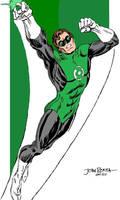 Green Lantern John Romita PC Color Art
