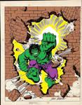 Hulk John Romita PC Coloring Art