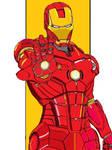 Iron Man PC Paint Art