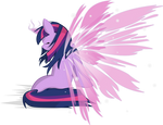 Angelic Wings Twilight Sparkle
