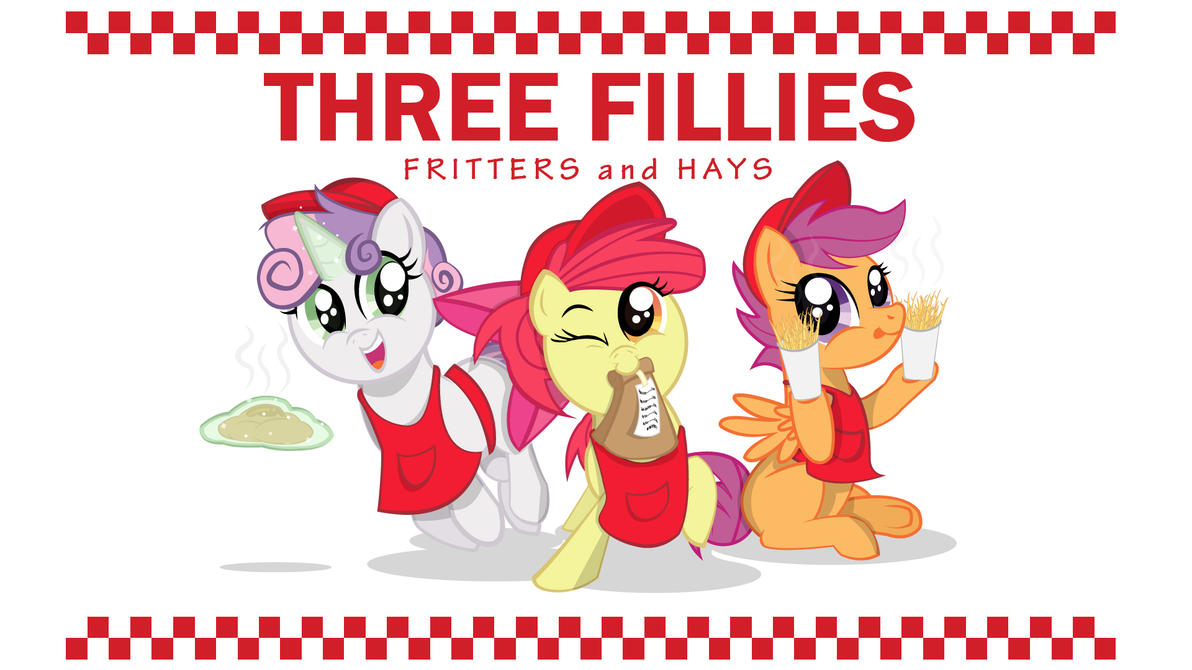 Three Fillies Fritters and Hays by OstiChristian