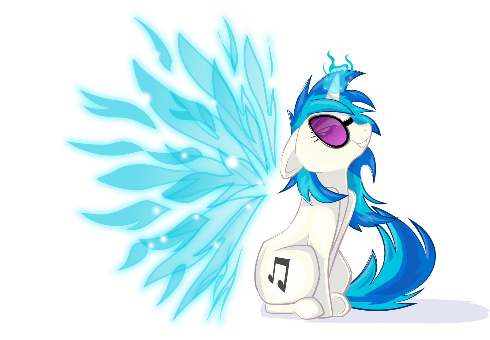 Angelic Wings V... Neon Lights Mlp In Show