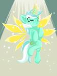 Angelic Wings Lyra