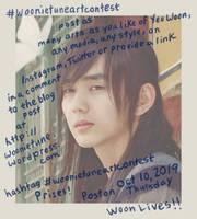 Hashtag #YeoWoonArtContest