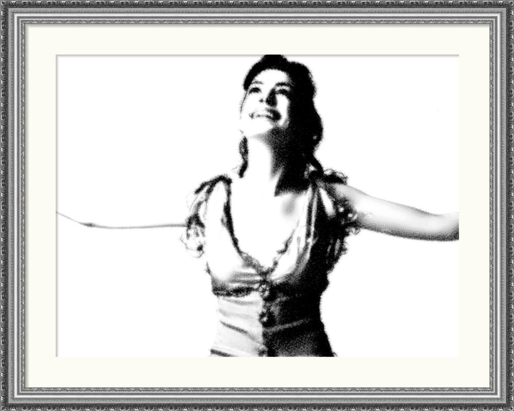 Anne Hathaway In Photo Frame by dncube