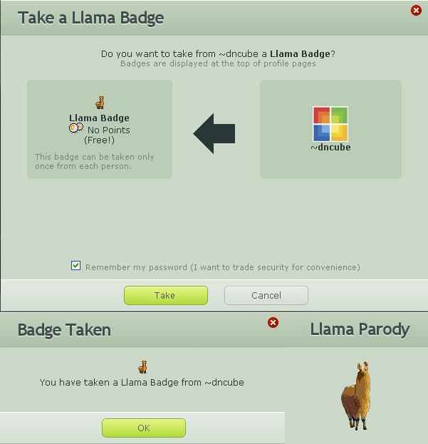 Llama Parody by dncube