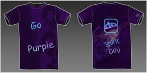 deviantART Purple T-Shirt