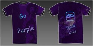 deviantART Purple T-Shirt