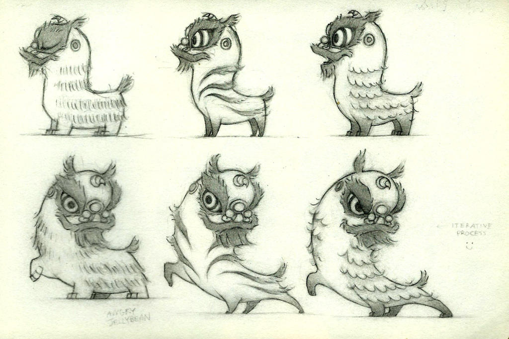 Kwan character sketches by Witbik