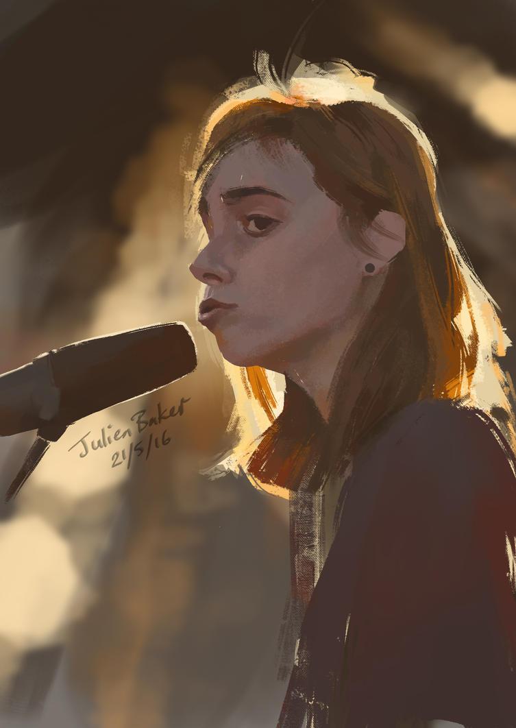 Study: Julien Baker by Witbik