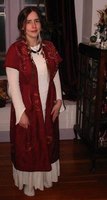 Dressed in Katran's Costume 1