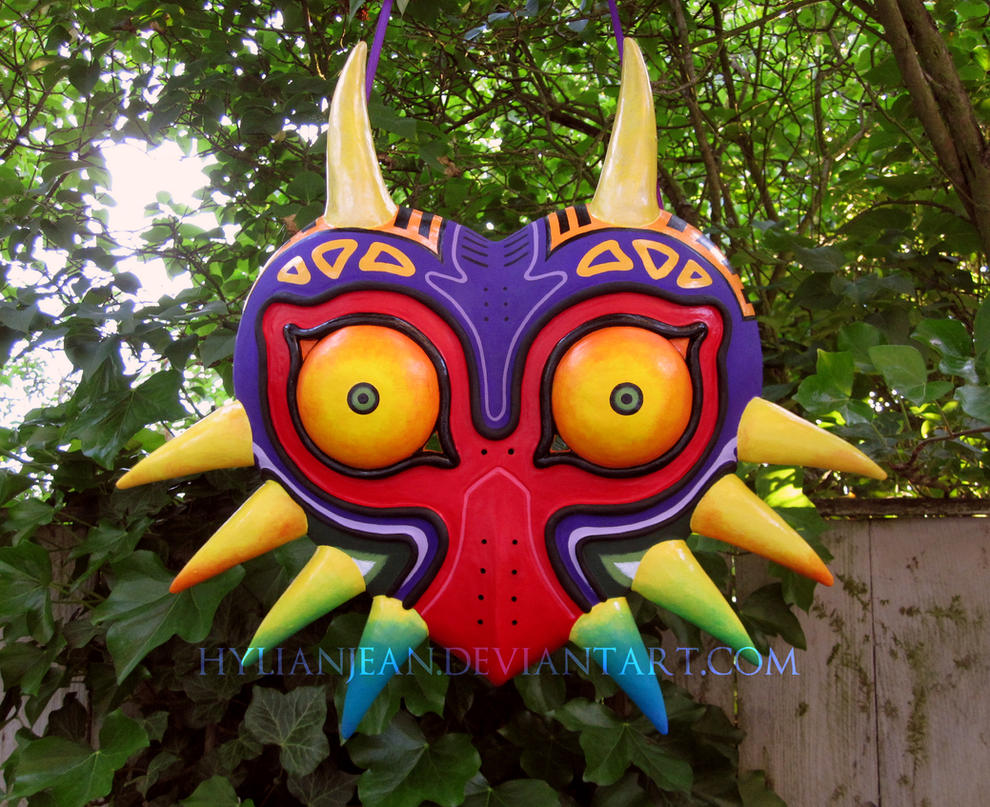 New Majora's Mask Closeup by HylianJean