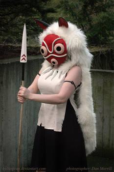 Princess Mononoke Cosplay - Anger of the Wolf Clan