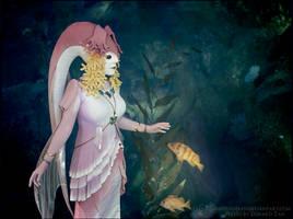 Golden Fish - Queen Rutela Portrait