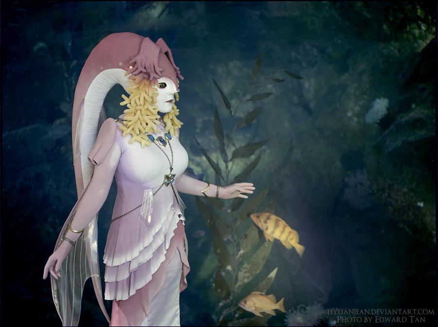 Golden Fish - Queen Rutela Portrait by HylianJean