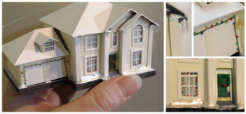 Tiny House Christmas Ornament