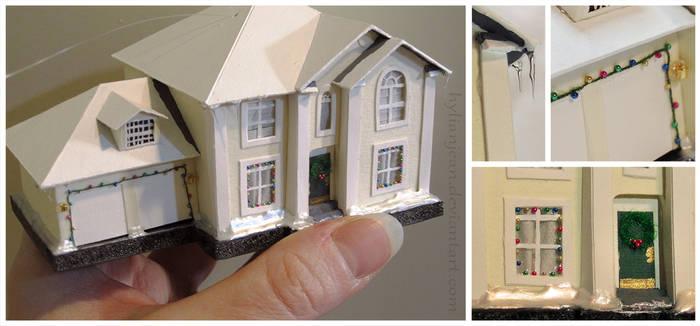 Tiny House Christmas Ornament