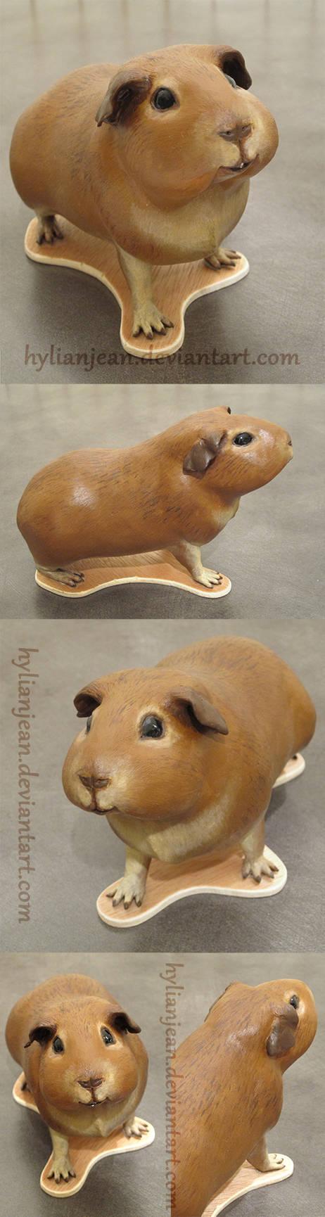 Mini Guinea Pig Sculpture
