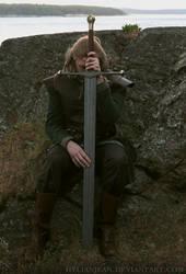Sword of the Starks - Ned Stark cosplay