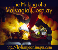 Making a Volvagia Cosplay from The Legend of Zelda