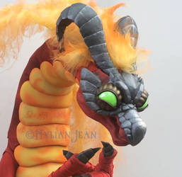 A Devious Dragon - Volvagia Cosplay