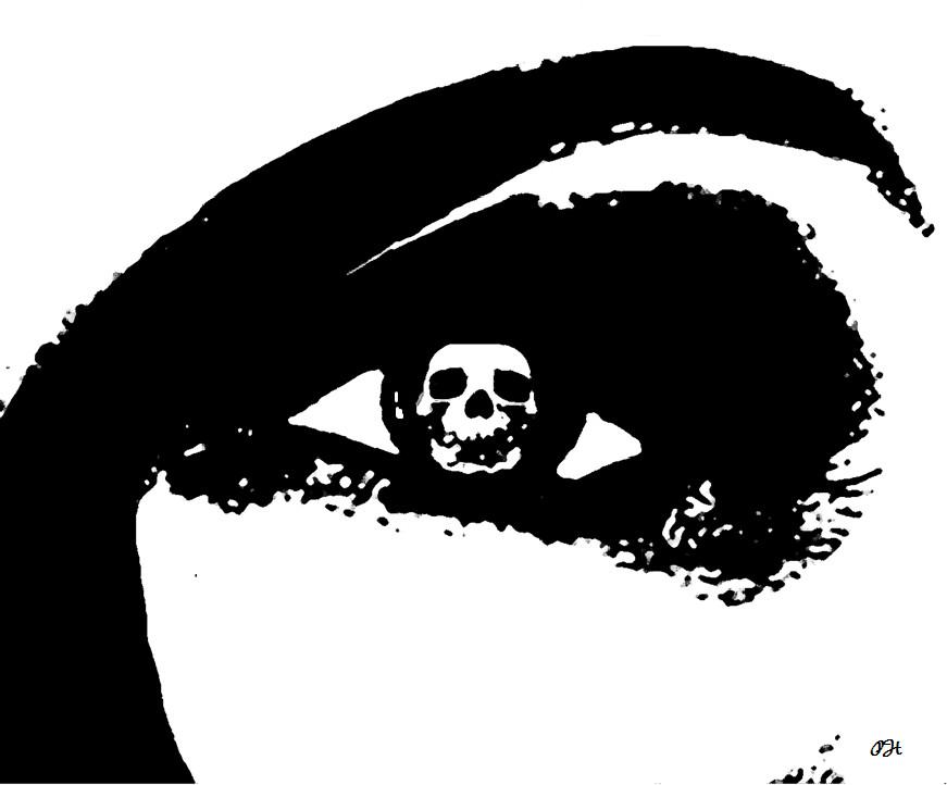 Escheresque Eye of Death by A-Figure-in-Black