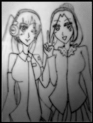 Hatsune Miku and Me by Kawaii-Shiro
