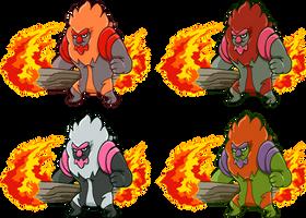 Conkeldurr Fire Sprite