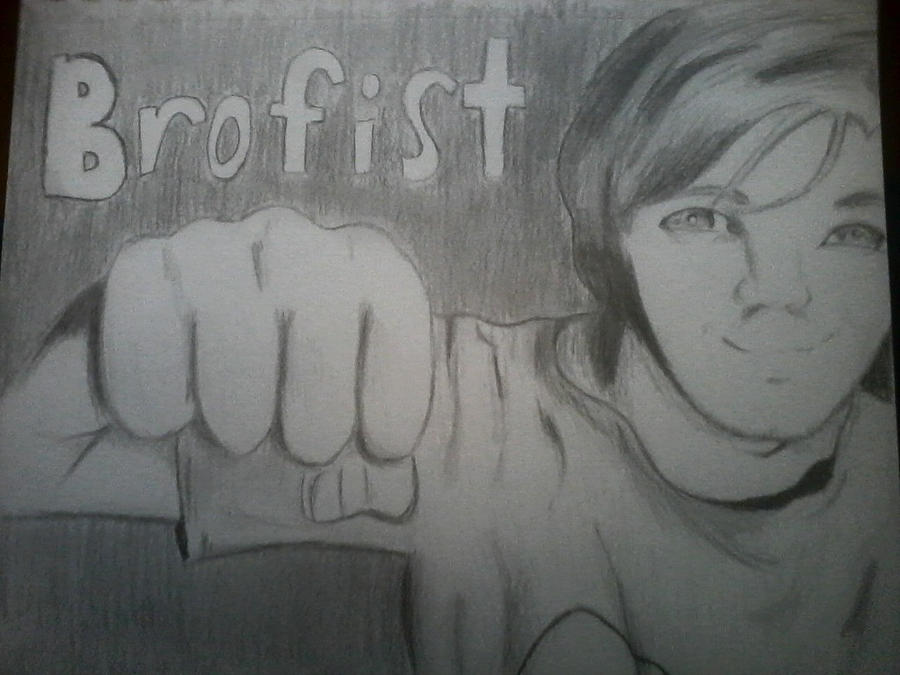 PewdiePie *brofist* by Mohxi