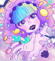 Pastel Goth by Mohxi