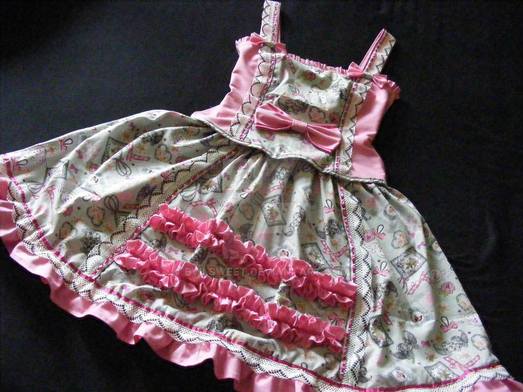 Sweet Lolita Dress Puppy Dream by Evilsweet
