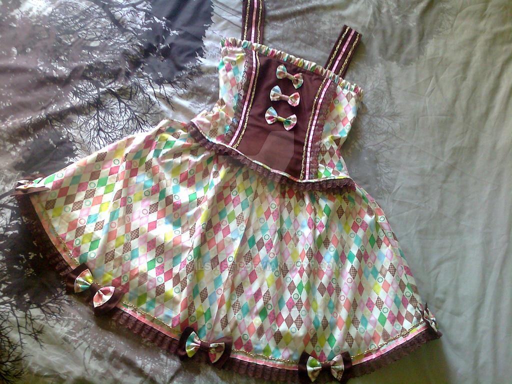 Sweet Lolita Dress Happy Diamond by Evilsweet
