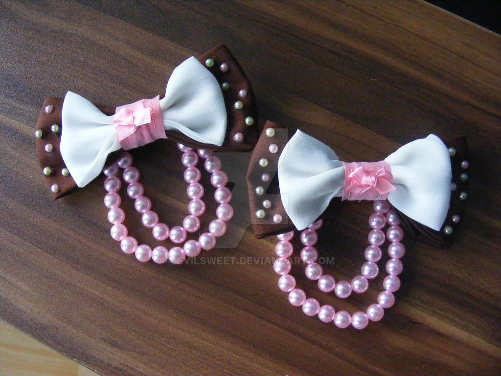 Sweet Lolita Hair Accessories by Evilsweet