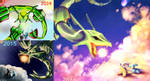 Draw This Again- Rayquaza Battle by visionaryBuffoon127
