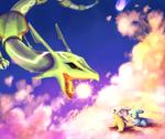 Rayquaza Battle