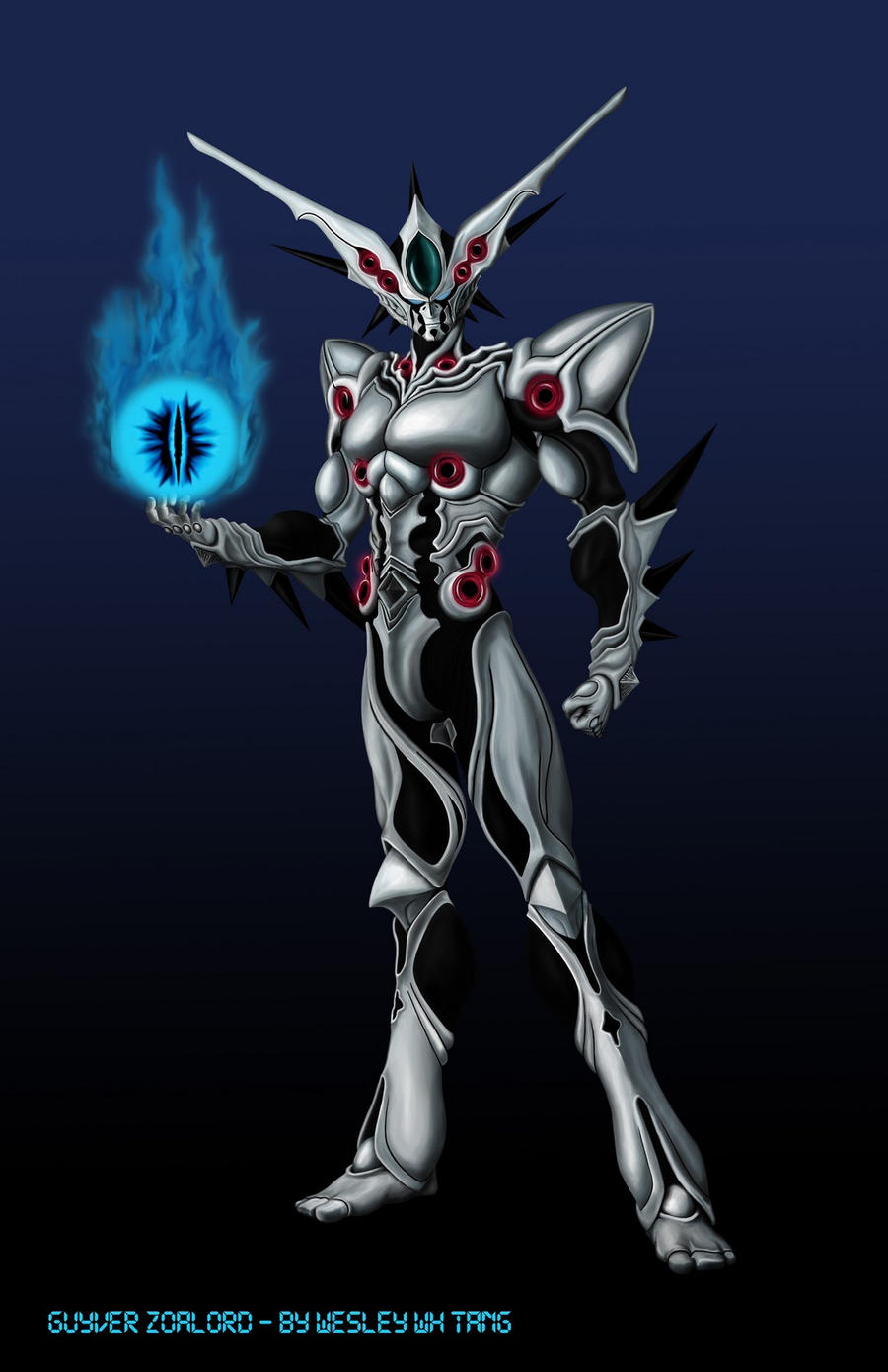 Zoalord Guyver by wesley-tang