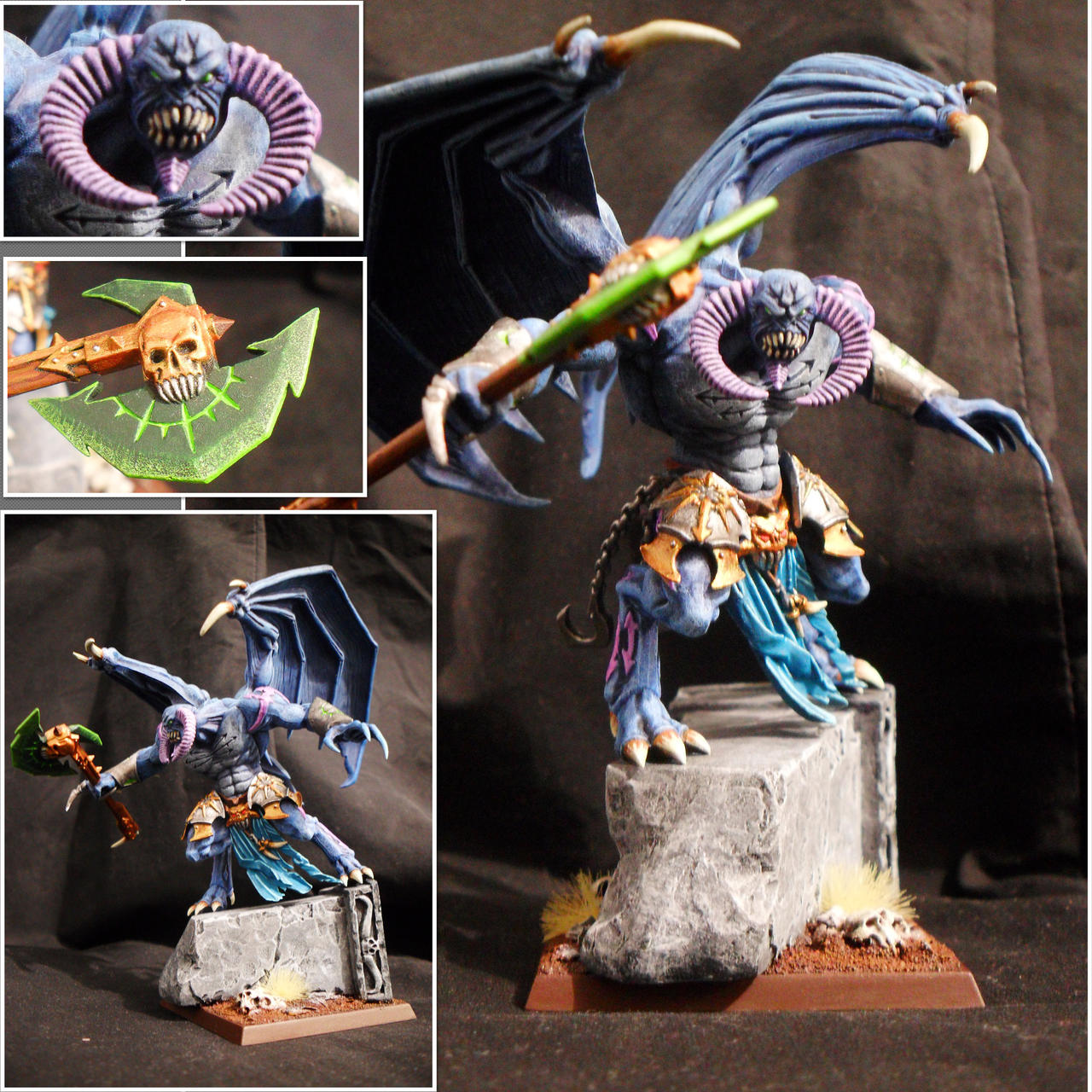 Daemon Prince of Tzeentch by Taelonar