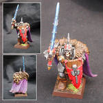 Wight King with Hand Weapon and Shield