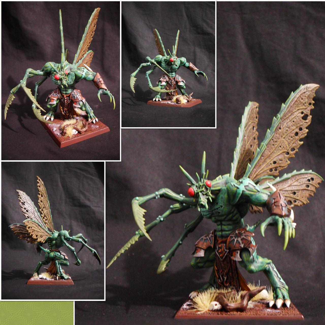 Daemon Prince of Nurgle by Taelonar