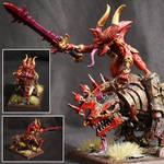 Herald of Khorne on Juggernaut