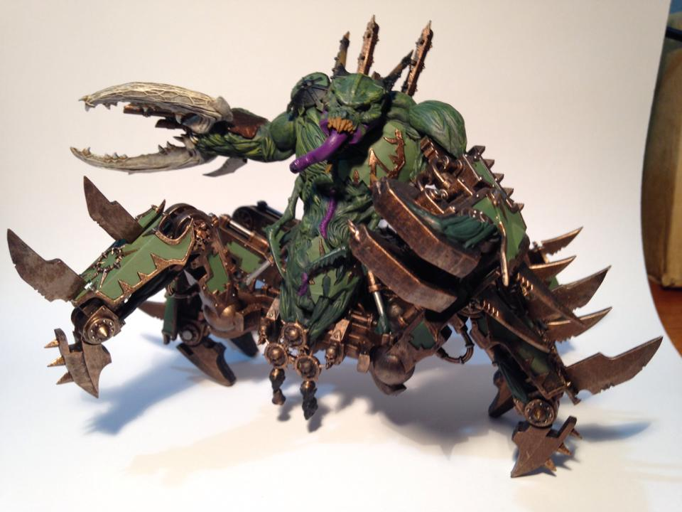 Soul Grinder of Nurgle work in progress by Taelonar