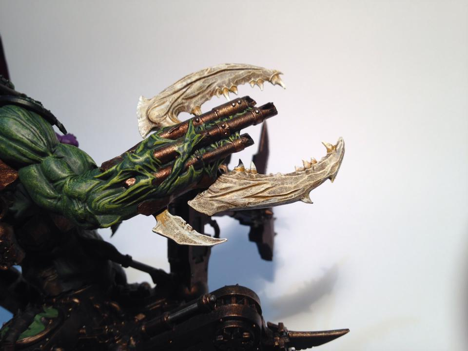 Soul Grinder Claw work in progress by Taelonar